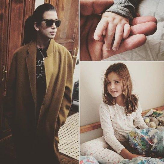 Шоумен Иван Ургант опубликовал фото своих дочерей