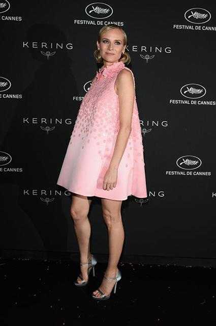 Сюрприз на Каннском кинофестивале: 41-летняя Диана Крюгер беременна! Фото