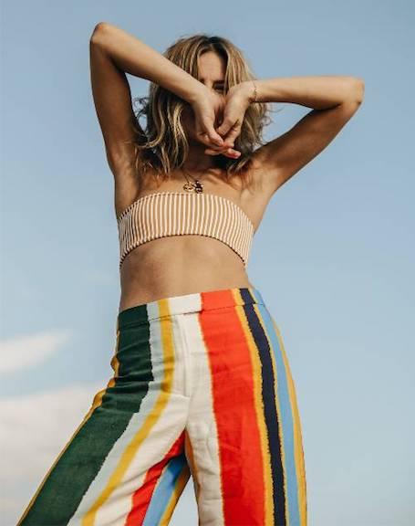 Разноцветный полосатый принт: как носить главный тренд лета 2018? Фото