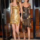 Золото и леопард: Джиджи и Белла Хадид впечатлили красотой в дерзких платьях. Фото