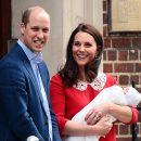 Кейт Миддлтон вышла на публику с сыном на руках через семь часов после родов! Фото