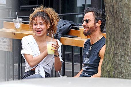 Новая любовь: 46-летний Джастин Теру встречается с 26-летней темнокожей моделью. Фото
