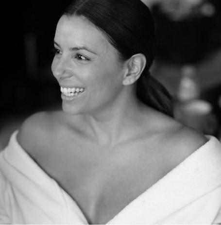 Беременная Ева Лонгория показала, как она выглядит без макияжа и прически. Фото