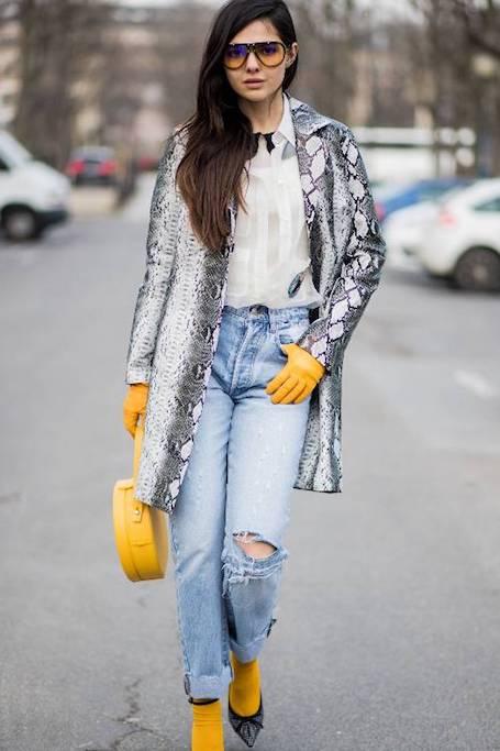 Когда сумка и обувь одного цвета: старомодный прием на пике моды. Фото
