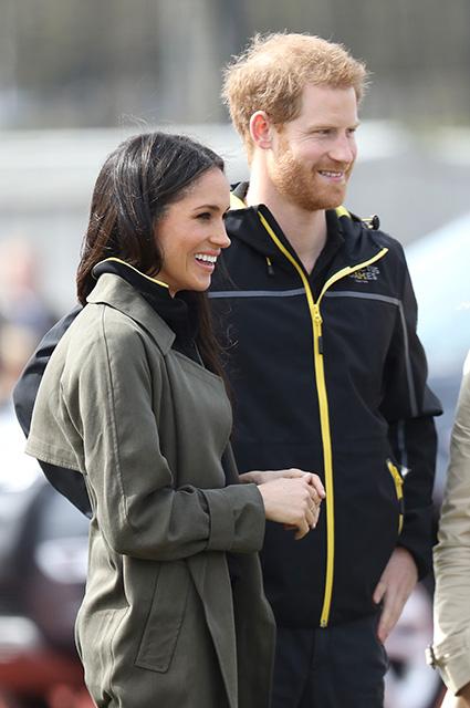 Неужели это — последний выход Меган Маркл и принца Гарри перед свадьбой? Фото