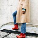 Красные сапоги: модный тренд, который завоевывает мир. Фото
