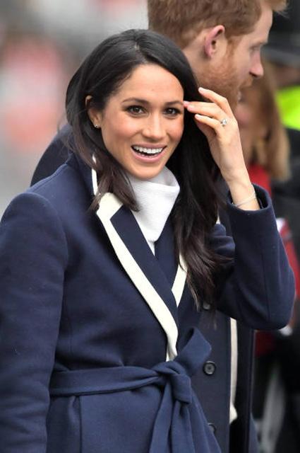 Меган Маркл показала шикарный модный образ, достойный королевы! Фото