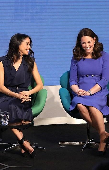 Меган Маркл и Кейт Миддлтон старались перещеголять друг друга на Royal Foundation. Фото