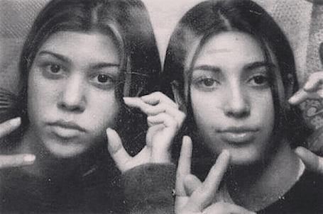 Не узнать без грима: Ким Кардашьян из 1997 года совсем не похожа на себя нынешнюю! Фото