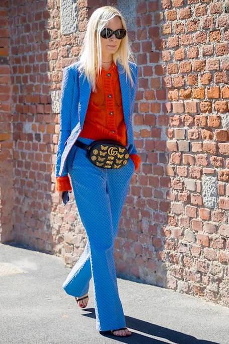 Модный хит 2018: поясная сумка всевозможных цветов и размеров! Фото