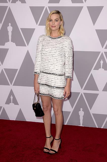 Оскар-2018: Марго Робби в платье Chanel затмила всех на традиционном фотоколле. Фото