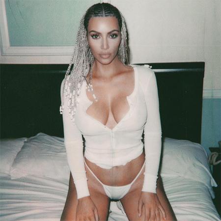 Душа нараспашку: Ким Кардашьян со скандальной прической разделась в пику недругам! Фото