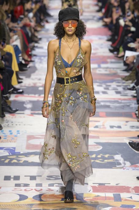 Неделя моды в Париже: женский страйк и революция на шоу Dior. Фото