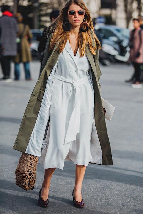 Лучшие образы street style на Неделе моды в Париже. Фото