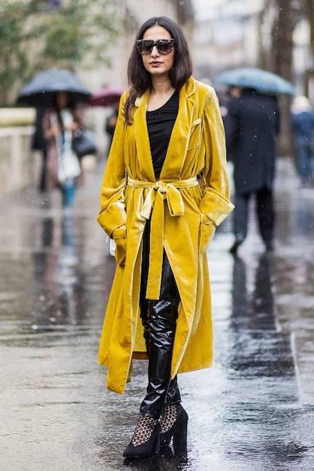 Хит весны 2018: какая одежда из винила самая модная? Фото