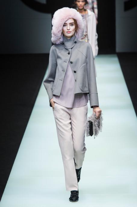 Неделя моды в Милане: шоу Emporio Armani и Giorgio Armani. Фото