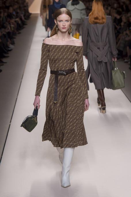 Неделя моды в Милане: реальная классика от Fendi. Фото
