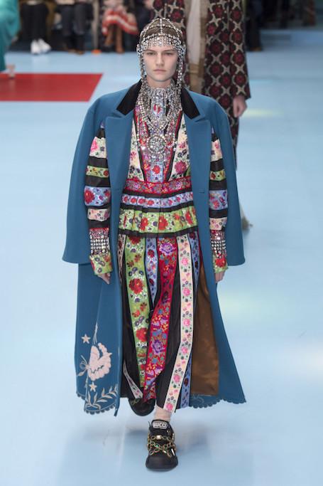Неделя моды в Милане: паноптикум на операционном столе от Gucci. Фото