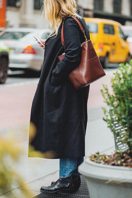Street style на Неделе моды в Нью-Йорке: искусство многослойности. Фото