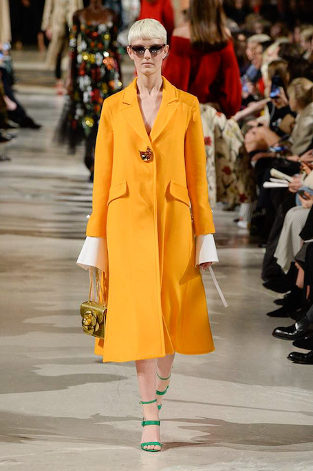 Неделя моды в Нью-Йорке: затейливая флора от Oscar de la Renta. Фото
