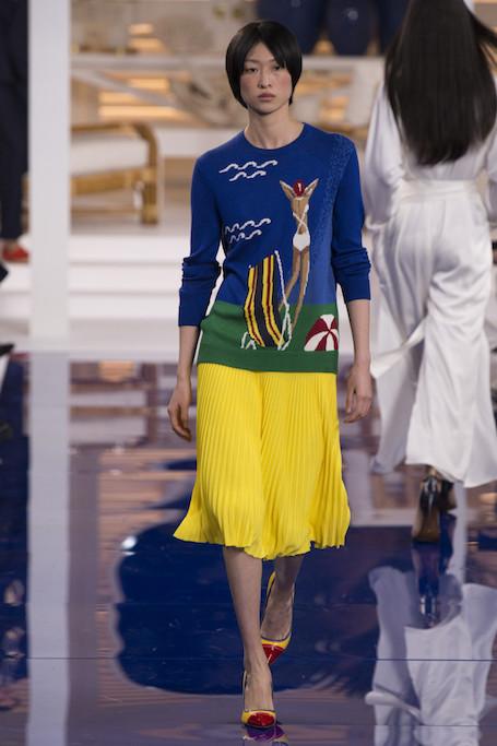 Ralph Lauren: весна-лето 2018 в цветах Ямайки на Неделе моды в Нью-Йорке. Фото
