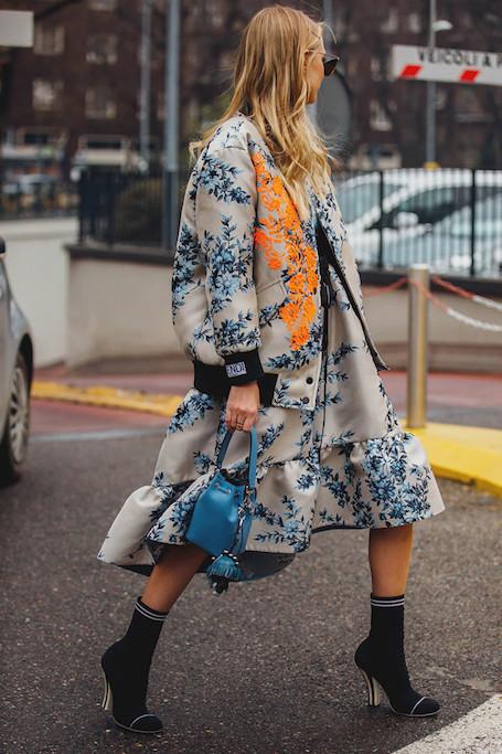 Street style на Неделе моды в Милане: противостояние классики и неона. Фото