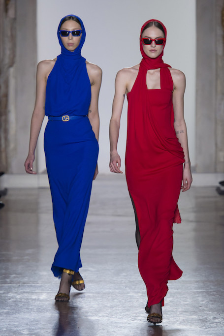 Неделя моды в Милане: юбилейный показ Versace с Водяновой. Фото