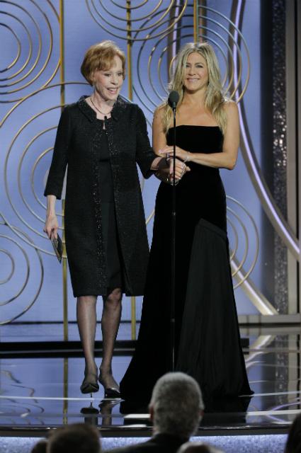 Враги навек: Анджелина Джоли игнорировала Дженнифер Энистон на Золотом глобусе. Фото