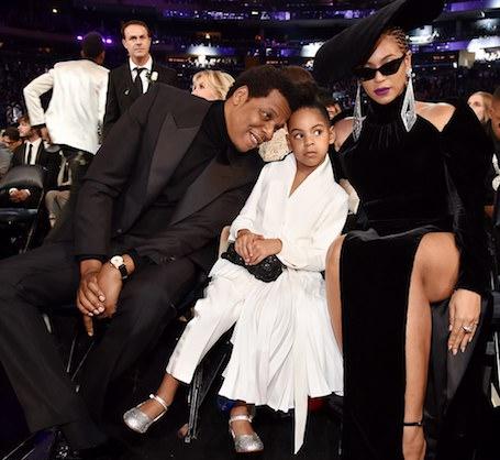 Блу Айви приструнила Бейонсе и Джей-Зи на глазах у всех гостей премии Грэмми. Фото