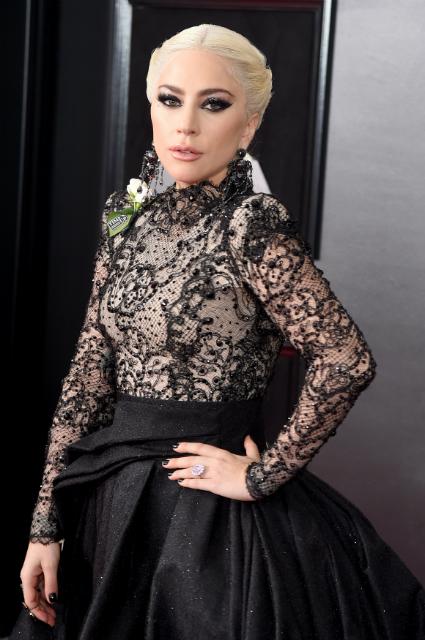 Фатальная красота: Леди Гага неузнаваема и потрясающе прекрасна на шоу Грэмми 2018. Фото