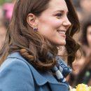 Королевский голубой: Кейт Миддлтон в модном наряде покоряет с первого взгляда. Фото