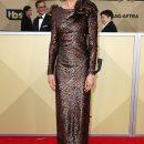 SAG 2018: 50-летняя Николь Кидман подчеркнула формы изящным платьем Armani Prive. Фото