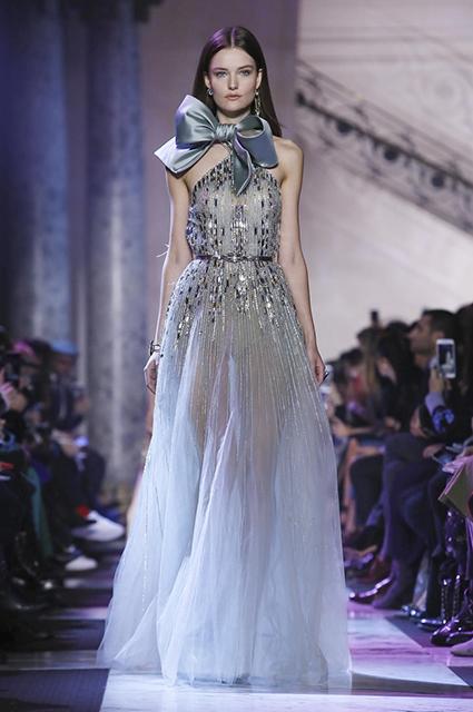 Неделя высокой моды в Париже: яркие краски Elie Saab. Фото