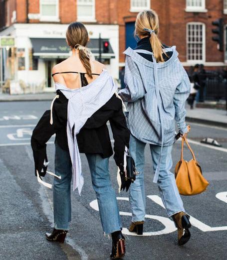25 лучших модных образов street style уходящего года. Фото