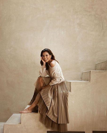 Беременная Ева Лонгория в образе элегантной леди снялась для глянца. Фото