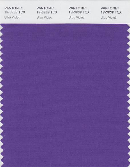 Ультрафиолет - главный цвет 2018 года по версии Pantone. Фото