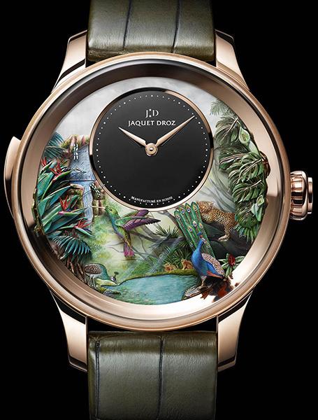 Объект желания: уникальные часы Tropical Bird от Jaquet Droz. Фото