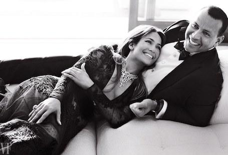 Дженнифер Лопес и Алекс Родригес впервые снялись вместе для сногсшибательного фотосета!