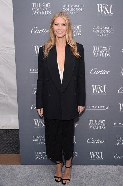 Пикантный шик: Гвинет Пэлтроу показала, как нужно одеваться на премию The Wall Street Journal. Фото