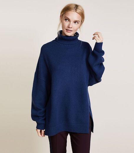 Как носить oversize свитер в сезоне осень-зима 2017-18? Фото