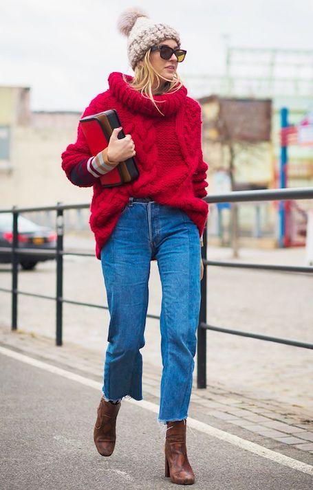Осенний street style: лучшие модные идеи с ярким акцентом. Фото