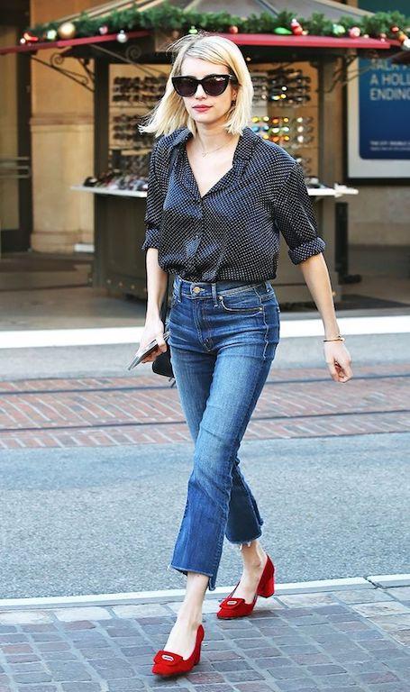 Джинсы, которые носят все звездные модницы этим летом! Фото