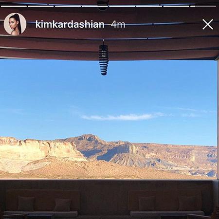 Ким Кардашьян отметила 37-летие на краю земли и в полном одиночестве. Фото