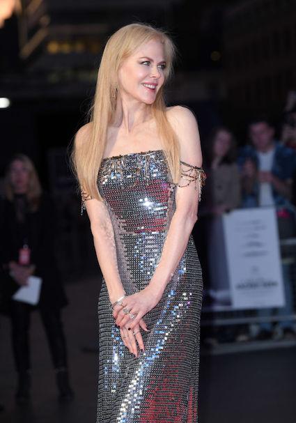 Мода на металл: Николь Кидман показала лучшее вечернее платье недели. Фото