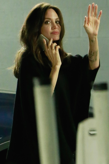 Королевская улыбка: Анджелина Джоли на встрече с поклонниками. Фото