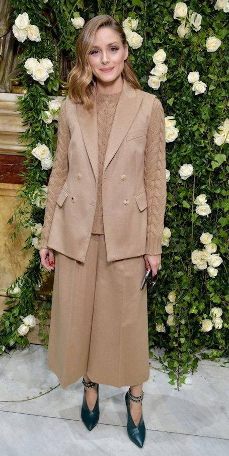 Оливия Палермо представила самый уютный модный образ осени 2017. Фото