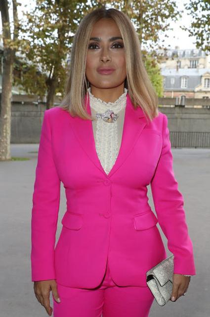 51-летняя Сальма Хайек превратилась в сногсшибательную блондинку! фото