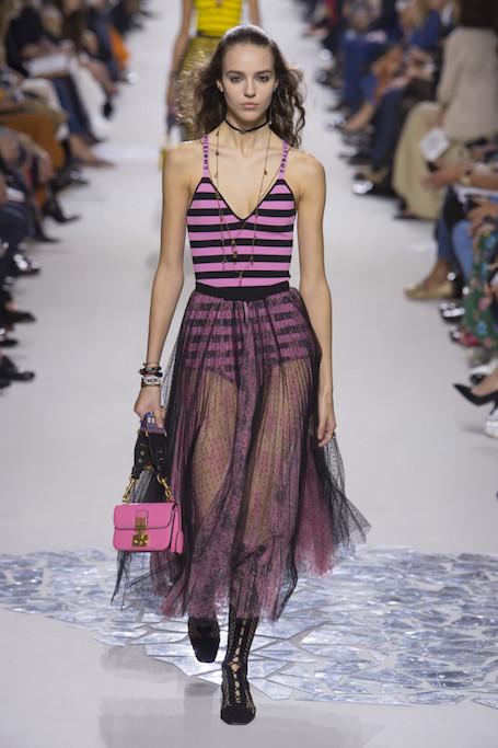 Неделя моды в Париже: показ Dior весна-лето 2018. Фото
