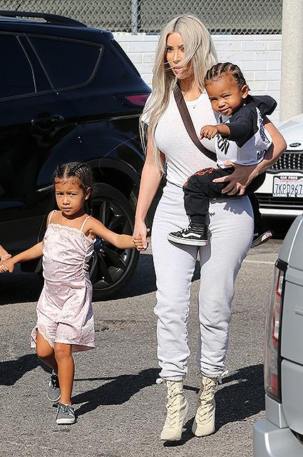 Ким Кардашьян показала, как повзрослели ее дети - Норт и Сейнт. Фото