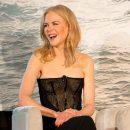 Смелость за гранью: Николь Кидман в платье Ulyana Sergeenko с прозрачным корсажем. Фото